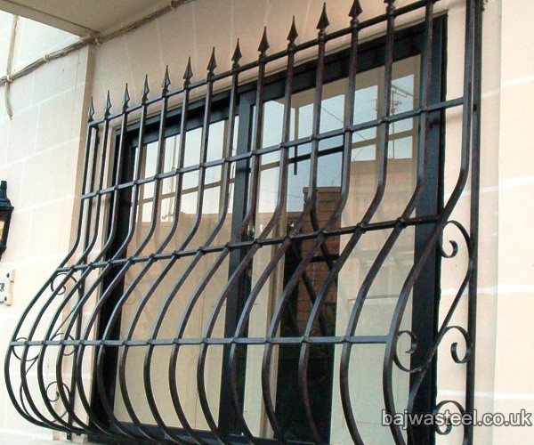 Bajwa steel window grills - Window grills design pictures ...